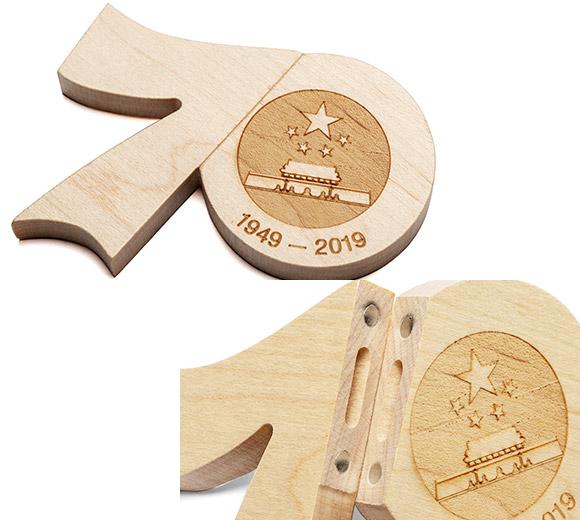 Custom wooden USB drives factory