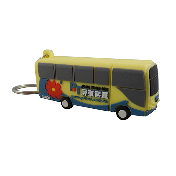 Customized Bus USB Flash Drive