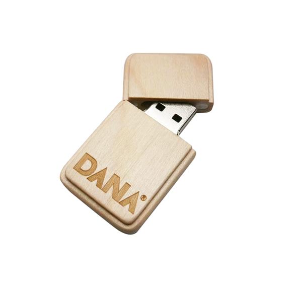 wooden memory key