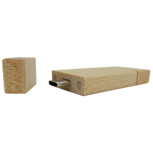 wooden type c USB Flash drive