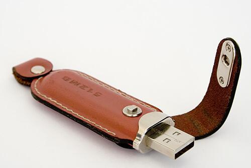 Genuine Leather USB drives