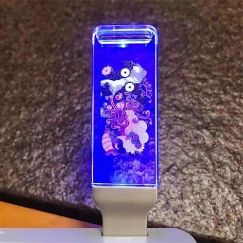 led light USB pen
